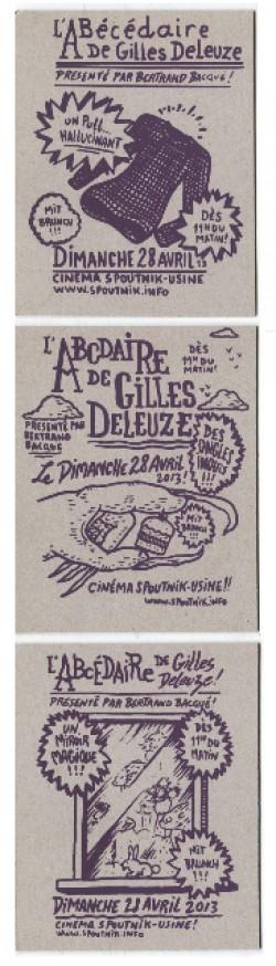 Cinema Spoutnik L Usine Geneve L Abecedaire De Gilles Deleuze